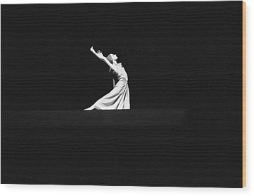 Wood Print featuring the photograph Ballet by Emanuel Tanjala