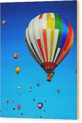 Balloon Festival Wood Print by Juergen Weiss