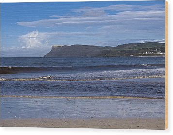 Ballycastle Beach Wood Print by Trevor Buchanan
