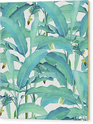 Banana Forest Wood Print