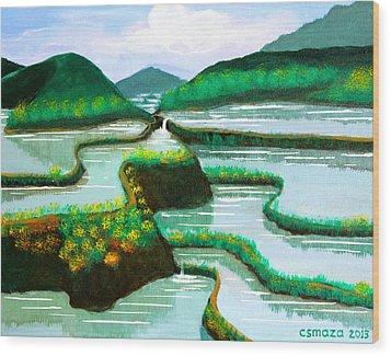 Banaue Wood Print