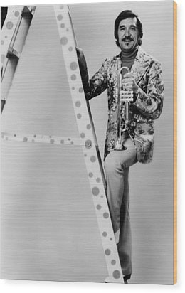 Band Leader Doc Severinson 1974 Wood Print by Mountain Dreams