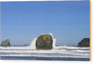 Bandon 14 Wood Print by Will Borden