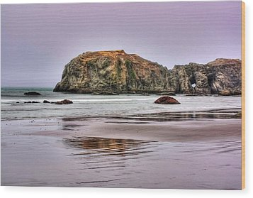 Wood Print featuring the photograph Bandon Beach Oregon by Tyra  OBryant