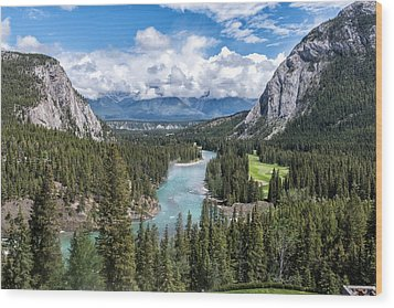 Banff - Golf Course Wood Print