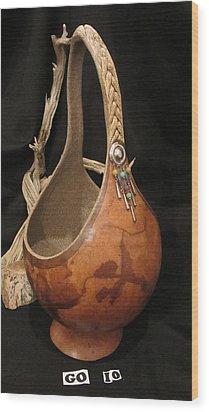 Bangles Go10 Wood Print by Barbara Prestridge