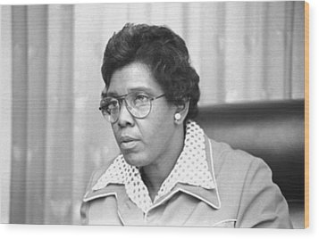 Barbara Jordan 1936-1996, African Wood Print by Everett