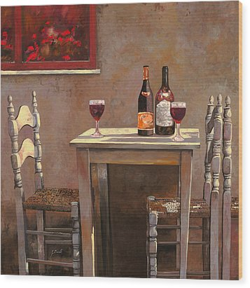 Barbaresco Wood Print by Guido Borelli