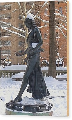 Wood Print featuring the photograph Barefoot In The Park by Rona Black