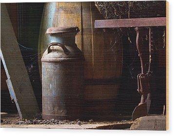 Barn Art Wood Print by Jim Finch