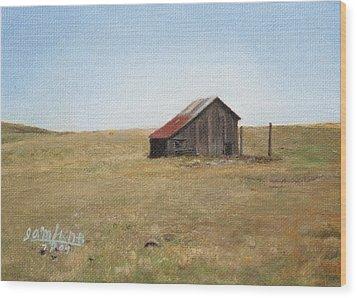 Barn Wood Print by Joshua Martin