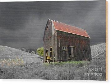 Barn Life Wood Print