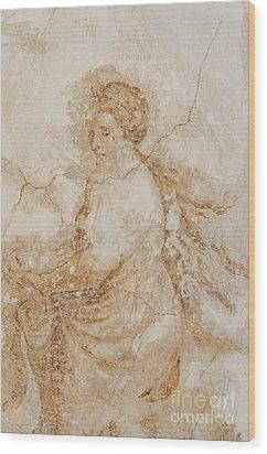 Baroque Mural Painting Wood Print by Michal Boubin