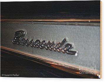 Barracuda Wood Print