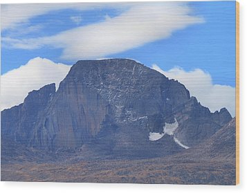 Wood Print featuring the photograph Barren Mountain Landscape Colorado by Dan Sproul