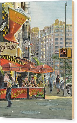 Barrow And Bleecker Wood Print by Tom Hedderich