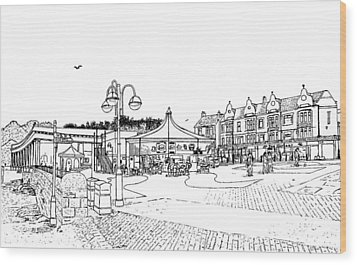 Barry Island Number 1 Wood Print