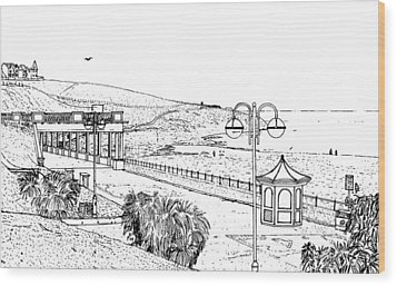 Barry Island Number 2 Wood Print