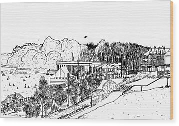 Barry Island Number 4 Wood Print