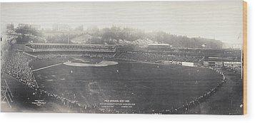 Baseball Game, 1904 Wood Print by Granger