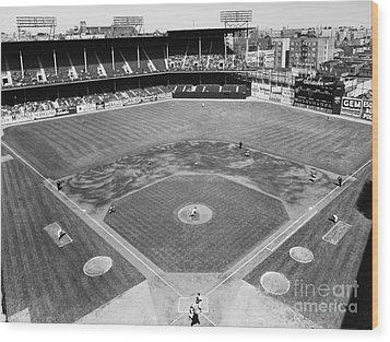 Baseball Game, C1953 Wood Print by Granger