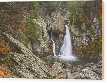 Bash Bish Falls In November 2 Wood Print