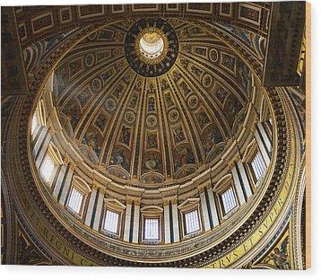 Basilica Wood Print
