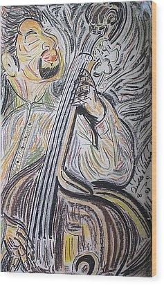 Bassman Wood Print by Diallo House