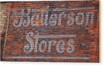 Batterson Stores Wood Print by Jame Hayes