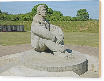 Battle Of Britain Memorial Wood Print by Chris Thaxter