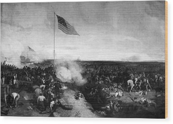 Battle Of New Orleans Wood Print