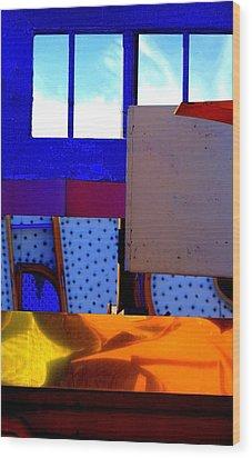 Bauhaus Wood Print by Mauricio Jimenez