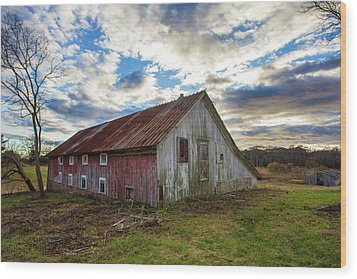 Bay Avenue Barn Wood Print