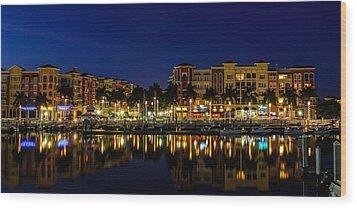 Bayfront Wood Print