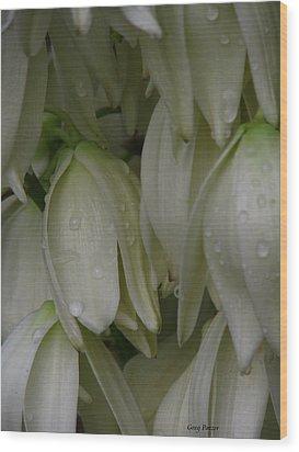 Bayonet Bloom Wood Print by Greg Patzer