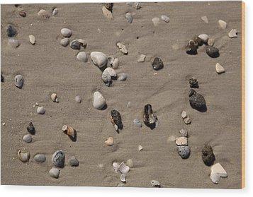 Beach 1121 Wood Print