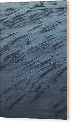 Beach Abstract 20 Wood Print