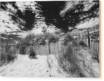 Beach Haven Wood Print by John Rizzuto