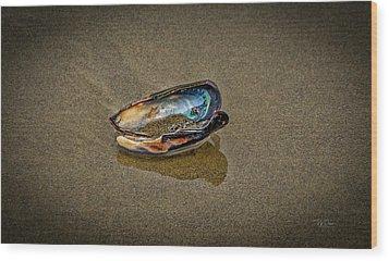 Beach Jewel Wood Print