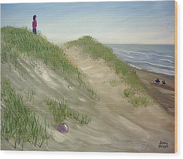 Beach Prize Wood Print by Kenny Henson