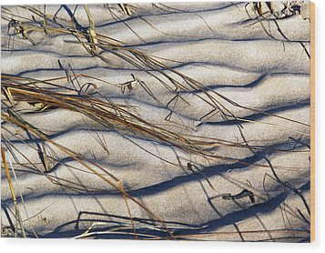 Beach Tapestry Wood Print