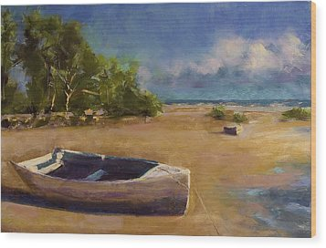 Beached Wood Print by David Patterson