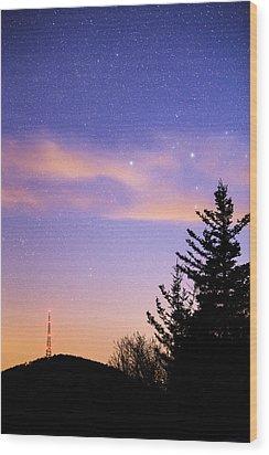Beacon Lights Wood Print