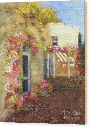 Beallair In Bloom Wood Print by Lois Bryan