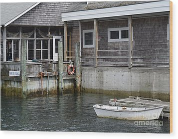 Beals Lobster Pound Wood Print