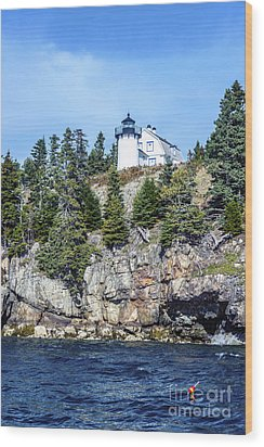 Bear Island Lighthouse Wood Print