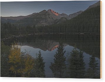 Bear Lake Wood Print