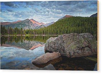 Bear Lake Rocky Mountain National Park 3172  Wood Print by Ken Brodeur