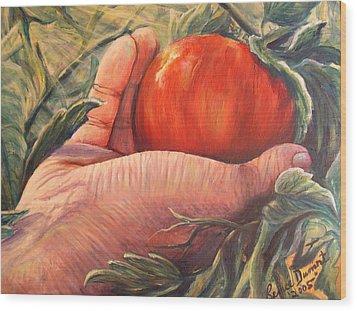 Bearing Good Fruit Wood Print by Renee Dumont  Museum Quality Oil Paintings  Dumont