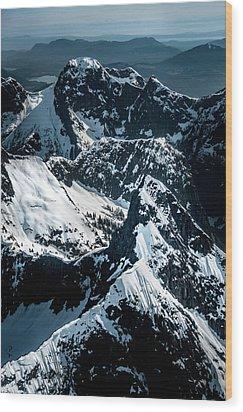 Beartooth Mountain Bc Wood Print